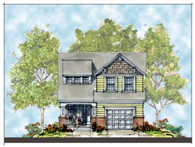 Craftsman House Plan 66410 Elevation