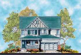 Traditional House Plan 66417 Elevation