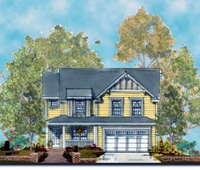 Craftsman House Plan 66428 Elevation
