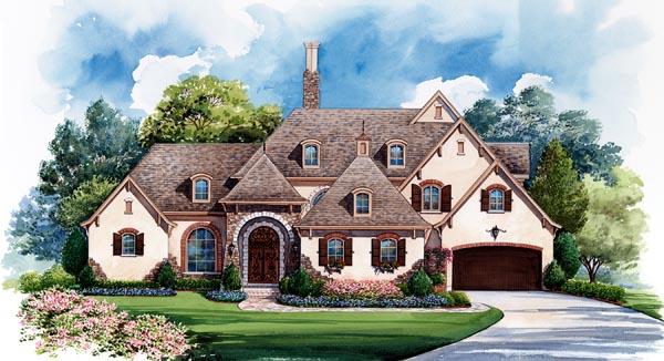 European House Plan 66435 Elevation