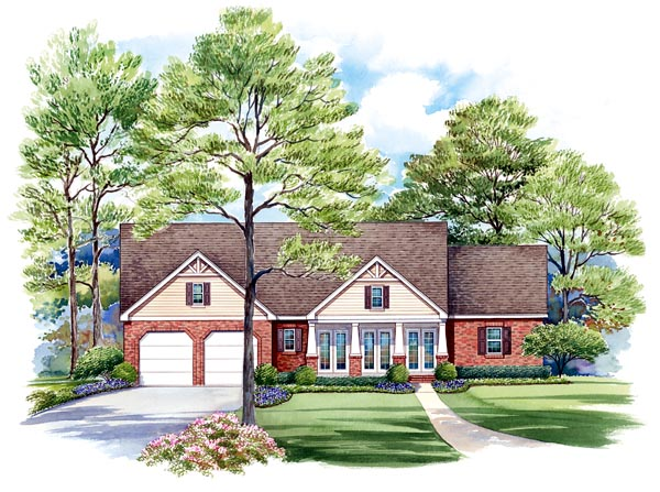 Craftsman House Plan 66441 Elevation