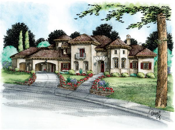 Mediterranean House Plan 66444 Elevation