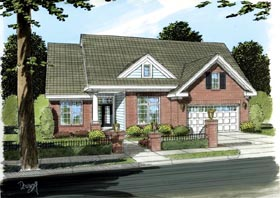 Traditional House Plan 66452 Elevation