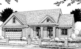 Traditional House Plan 66458 Elevation