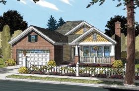 Bungalow Cottage Craftsman House Plan 66466 Elevation