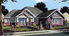 Craftsman House Plan 66467 Elevation