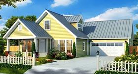 Cottage Craftsman House Plan 66471 Elevation