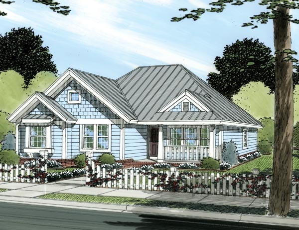 Traditional House Plan 66472 Elevation