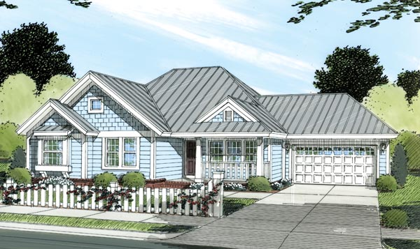 Traditional House Plan 66473 Elevation