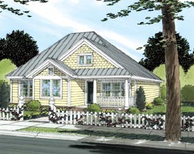 Traditional House Plan 66474 Elevation
