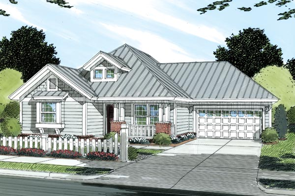 Traditional House Plan 66477 Elevation