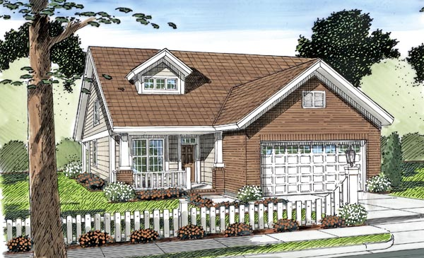 Cottage Traditional House Plan 66500 Elevation