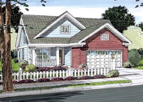 Cottage Traditional House Plan 66501 Elevation