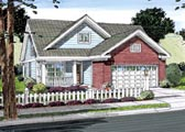 Plan Number 66501 - 1615 Square Feet
