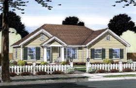 Traditional House Plan 66549 Elevation