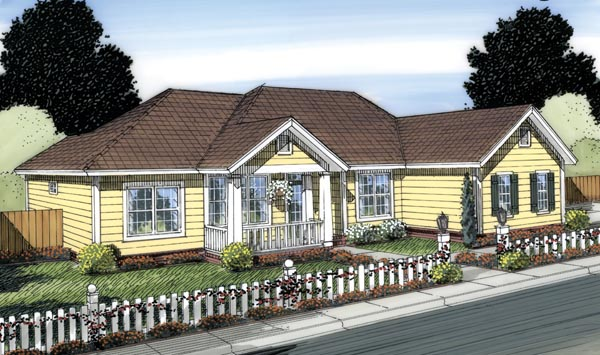 House Plan 66551