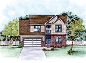 Traditional House Plan 66557 Elevation
