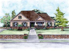 Craftsman House Plan 66559 Elevation