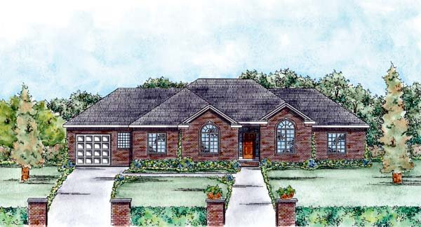 Traditional House Plan 66560 Elevation
