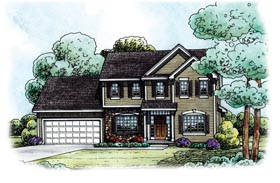 Traditional House Plan 66569 Elevation