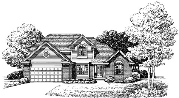 Traditional House Plan 66572 Elevation