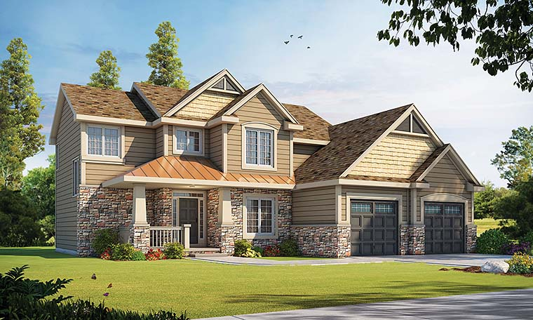 House Plan 66576 Elevation