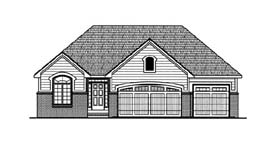 Traditional House Plan 66581 Elevation