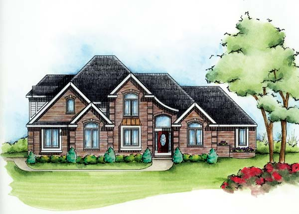 Traditional House Plan 66582 Elevation