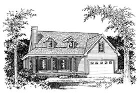 Farmhouse House Plan 66586 Elevation