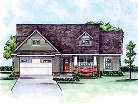 Craftsman House Plan 66587 Elevation