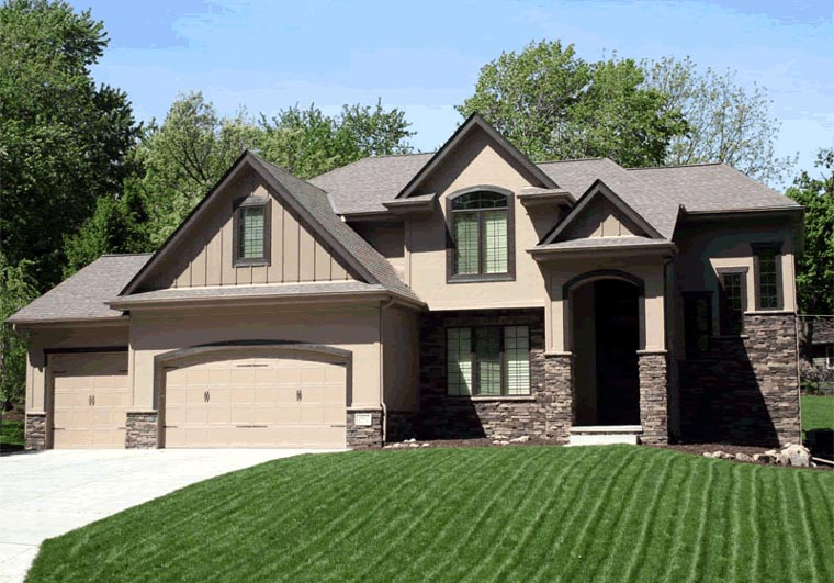 European House Plan 66601 Elevation