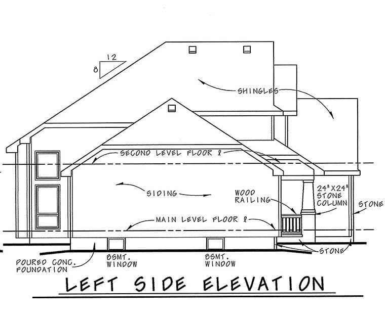 Craftsman House Plan 66610
