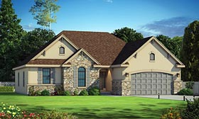 Traditional House Plan 66619 Elevation