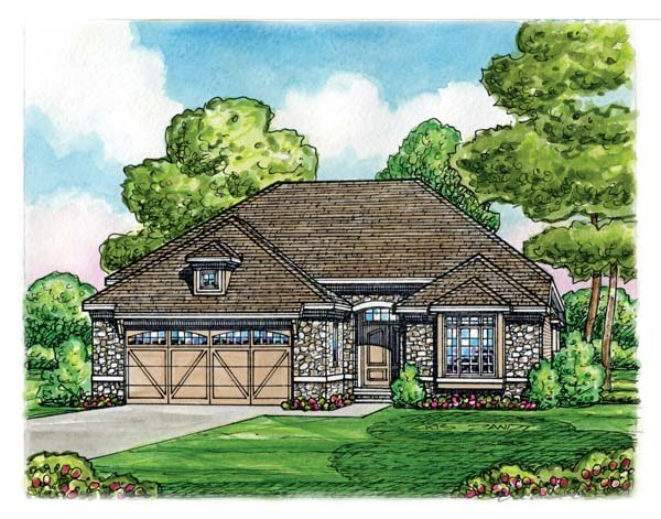 Country House Plan 66623 Elevation