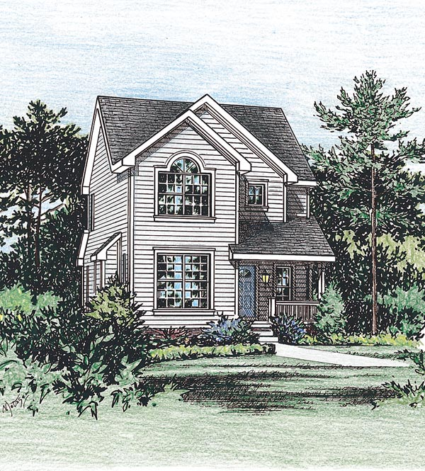 Country House Plan 66628 Elevation