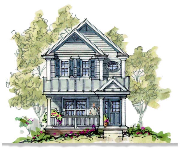 Country House Plan 66629 Elevation