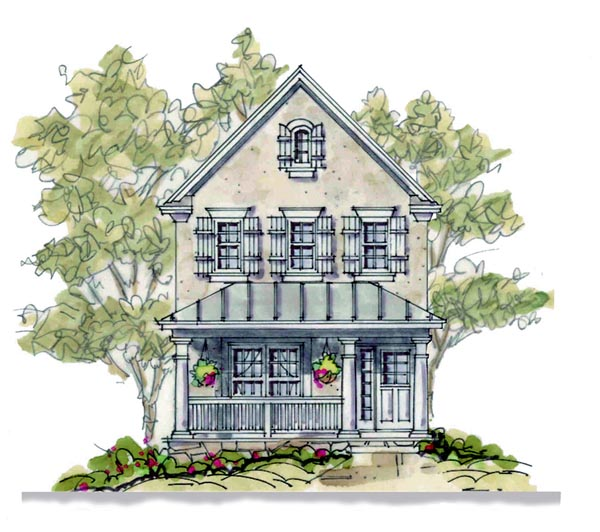Country European House Plan 66630 Elevation