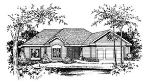 Traditional House Plan 66633 Elevation