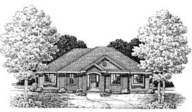Traditional House Plan 66639 Elevation