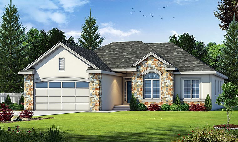 Country European House Plan 66642 Elevation