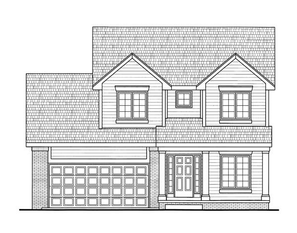 Traditional House Plan 66643 Elevation