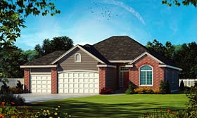 Traditional House Plan 66645 Elevation