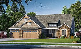 Craftsman House Plan 66654 Elevation