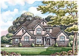 Traditional House Plan 66657 Elevation