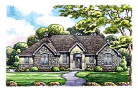 Traditional House Plan 66658 Elevation
