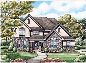Traditional House Plan 66659 Elevation