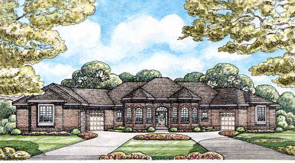 Traditional House Plan 66660 Elevation