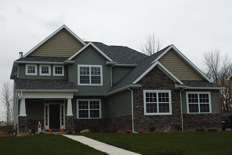Craftsman House Plan 66662 Elevation