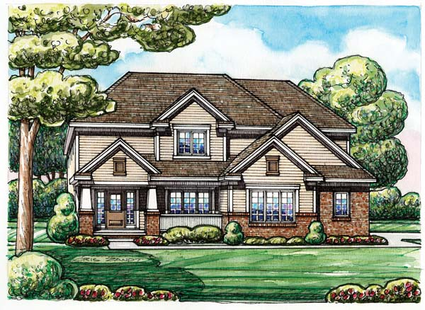 Traditional House Plan 66663 Elevation