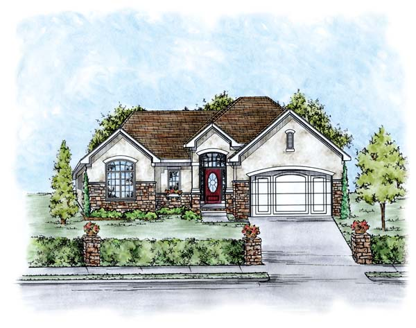 Traditional House Plan 66670 Elevation